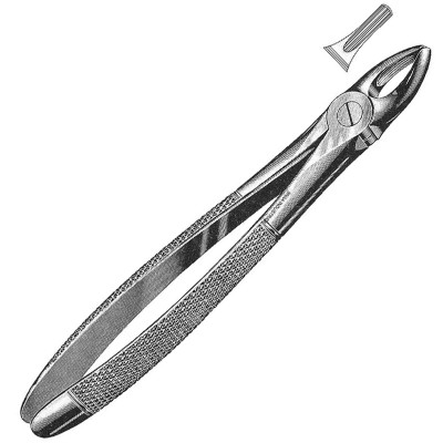 Extracting Forceps English Pattern, Fig. 1