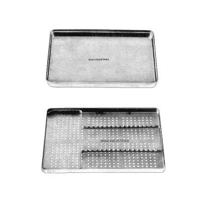 Complete Instruments Tray with Perforated Base