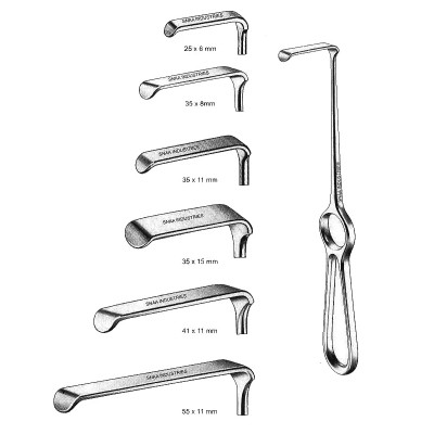 Kocher-Langenbeck Retractor